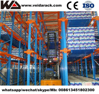 Heavy Duty Industrial Pallet Rack Components