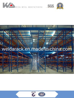 Metal Pallet Racking Mezzanine Floor Rack / Platform Systems