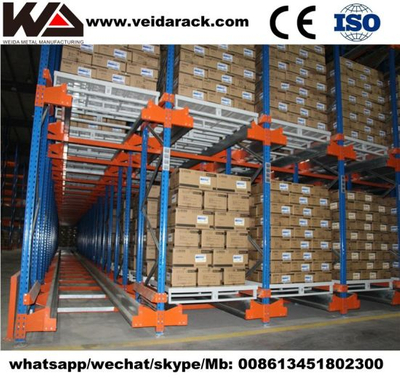 Warehouse Radio Shuttle Storage Racking