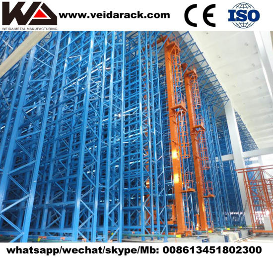 Automated Retrieval Pallet Racking System