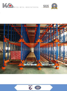 Steel Material Warehouse Radio Shuttle Racking