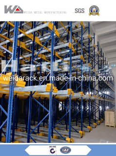 Warehouse Shuttle Storage Pallet Runner Rack System