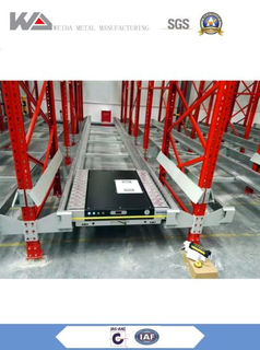 Warehouse Shuttle Pallet Racking System