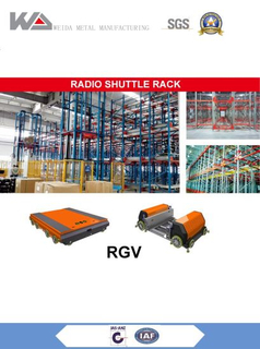 Massive Storage Radio Shuttle Racking