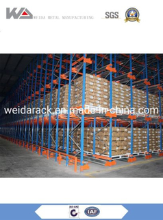 High Density Radio Pallet Shuttle Rack