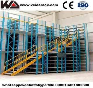 Metal Mezzanine Racking System