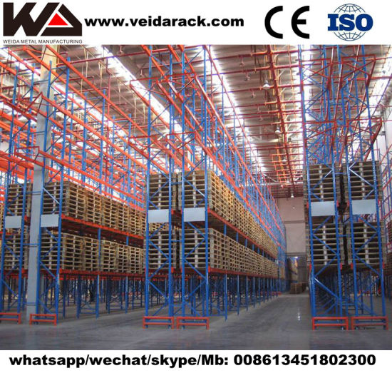Industry Warehouse Narrow Aisle Pallet Racking System