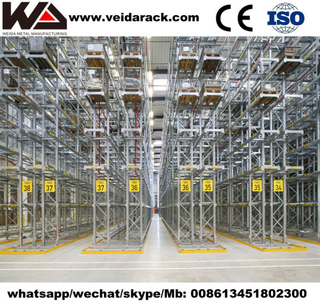 Automated Very Narrow Aisle Racking