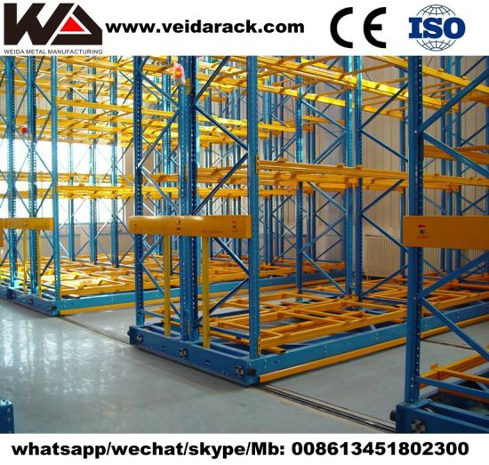 Heavy Duty Roller Shelving Storage System