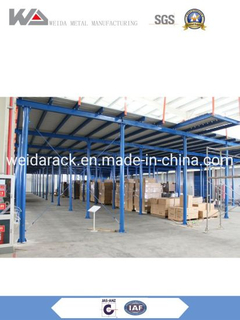 Warehouse Mezzanine Storage System