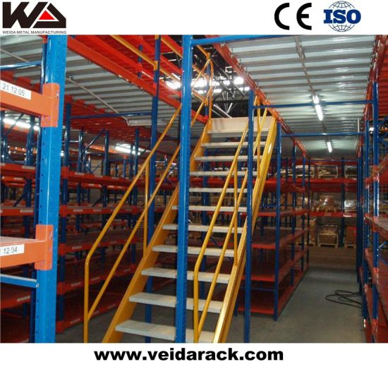 Steel Structure Pallet Rack Mezzanine Systems