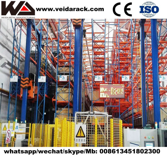 Automated Warehouse Heavy Duty Radio Shuttle Racking