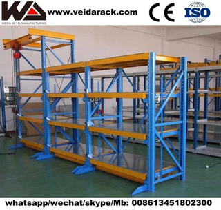 Warehouse Pallet Flow Racking System