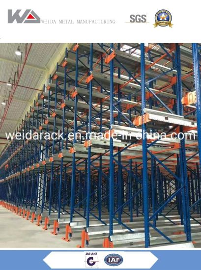 Adjustable Automatic Heavy Duty Radio Shuttle Racking