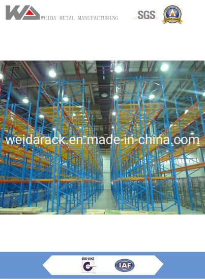 Metal Pallet Rack Warehouse Shelving for Sale