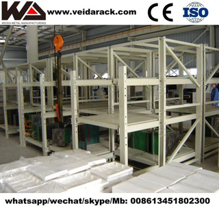 Warehouse Heavy Duty Mold Die Storage Racks