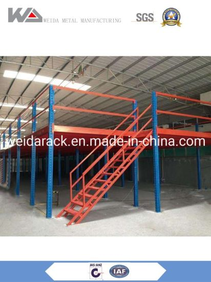 Steel Mezzanine Floor for Warehouse